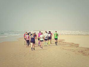 Laufcamp Andalusien - Strandläufe ohne Ende...