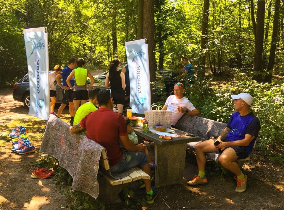 Laufen mit Freunden - Dynafit Testschuhlauf an der Weilach