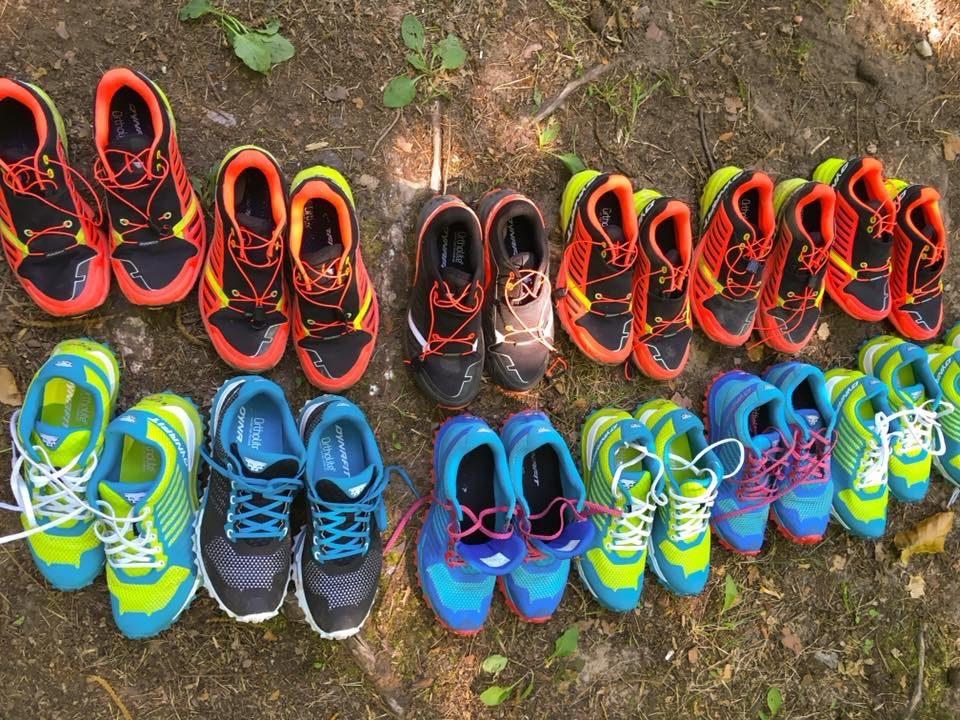 Testschuhlauf - Dynafit Trailschuhe testen - laufen mit Freunden