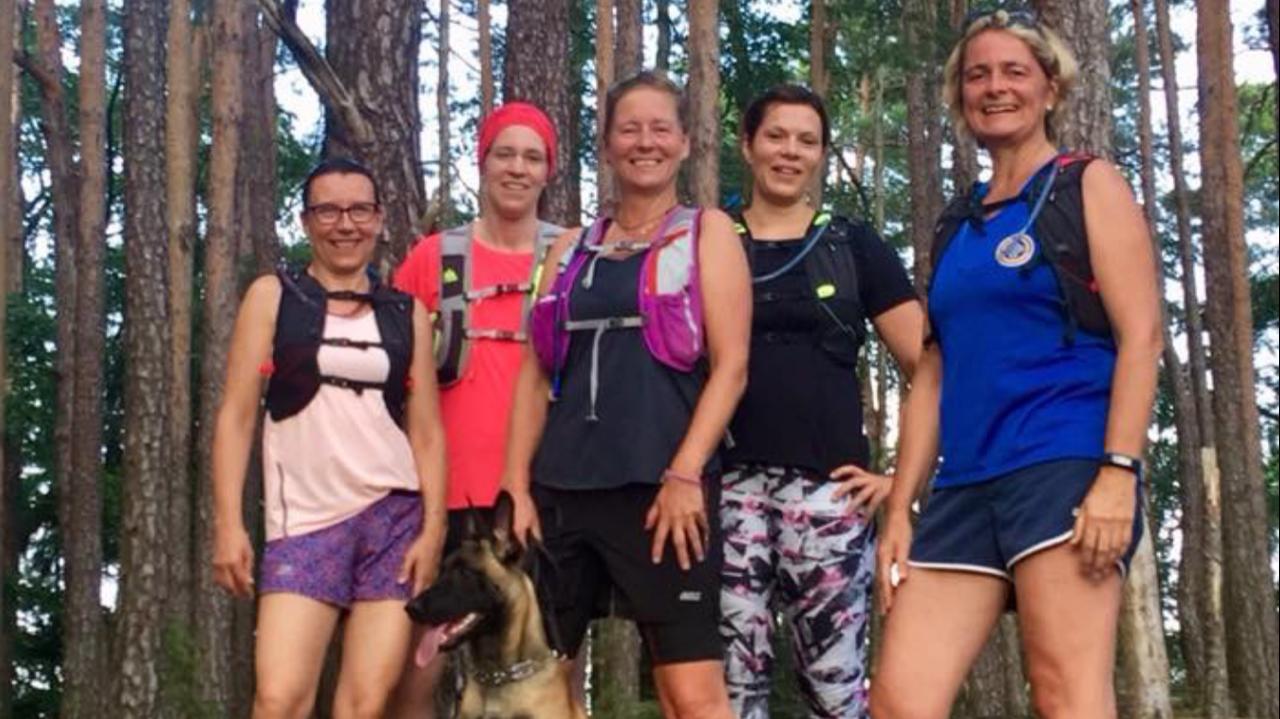 Traillaufen im Wald rund um Bad Dürkheim - Die Trailgirls unterweg :)
