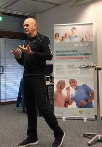 Vortrag Ernährung - Gesunde Ernährung als ein Bestandteil des SCHORK Sports Gesundheitskonzepts