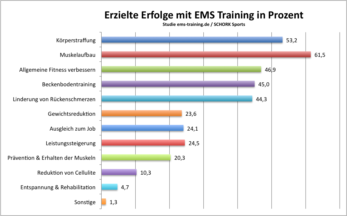 Erfolge durch EMS Training - i-EMS - Individual Personal Training Schork Sports, Freinsheim