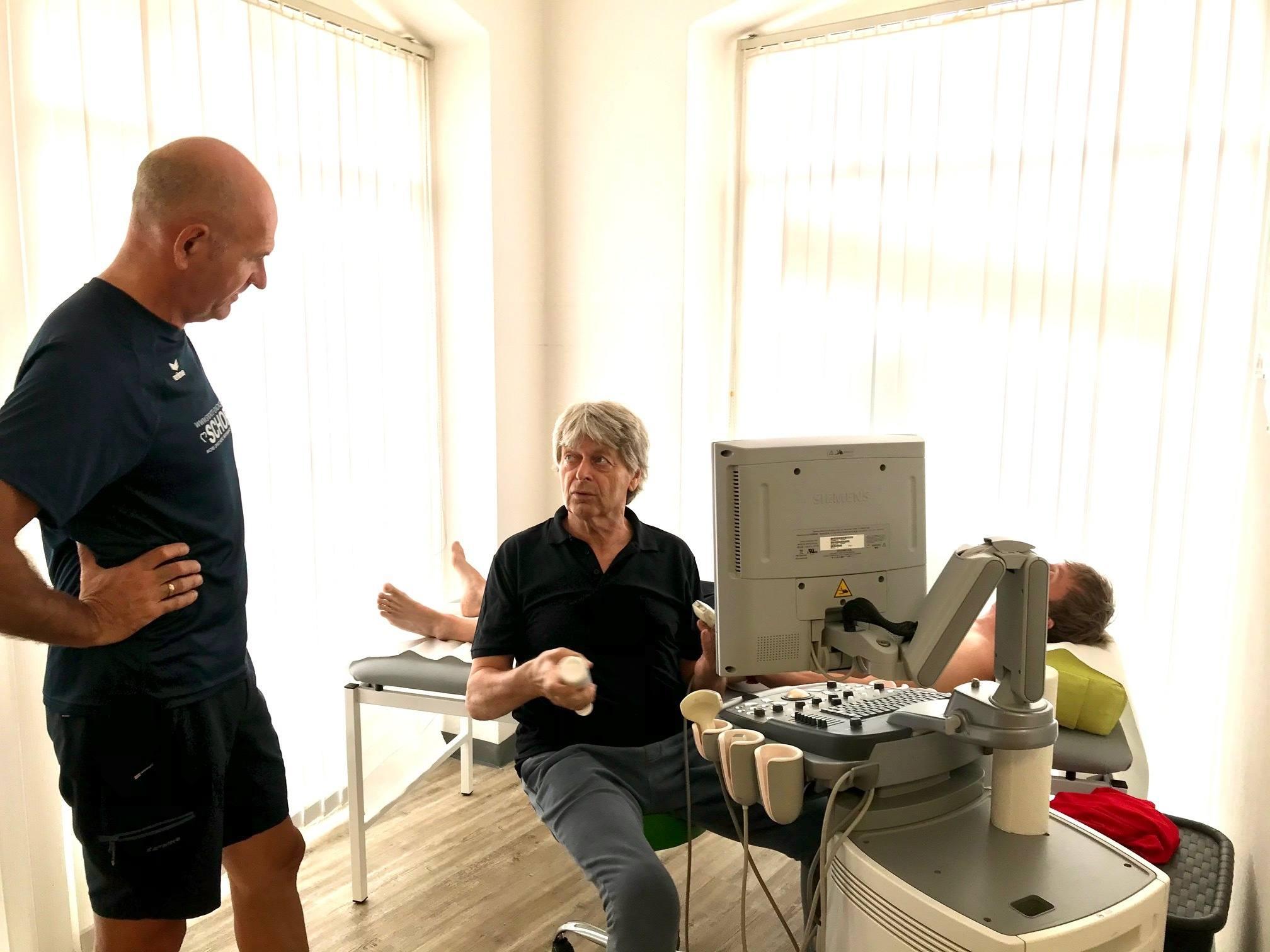 Ultraschall - Medizinischer Check-up für Sportler | SCHORK Sports