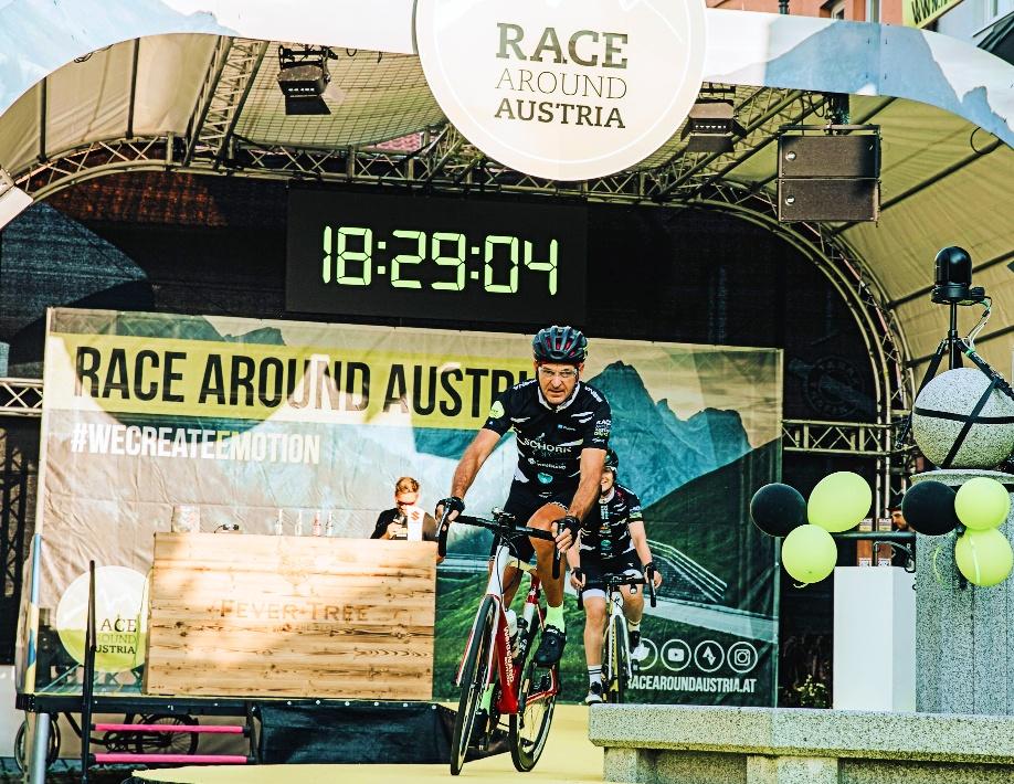 Start RAA Challenge 2021 - Uta Knape & Uwe Schork - ©Wolfgang Haidinger